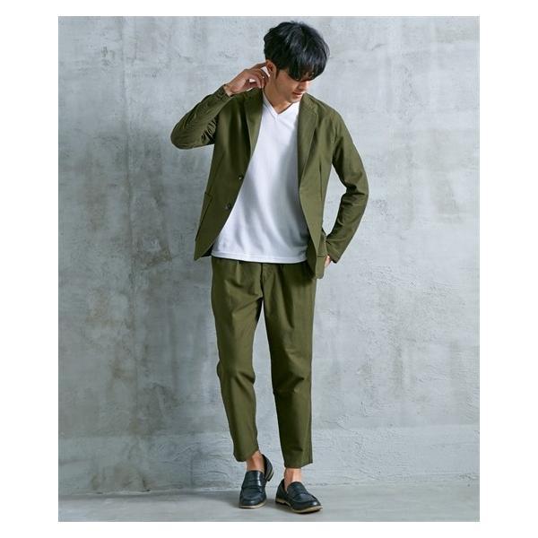 セットアップ スーツ メンズ M-LL 微起毛素材カジュアルセットアップスーツ(ジャケット+ツータックパンツ) 上下セットでお買い得! ニッセン faz-store 11