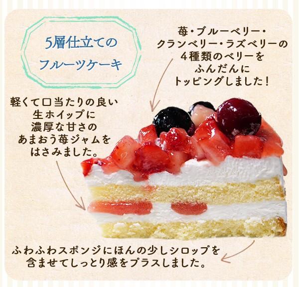 ホールケーキ フルーツケーキ 送料無料