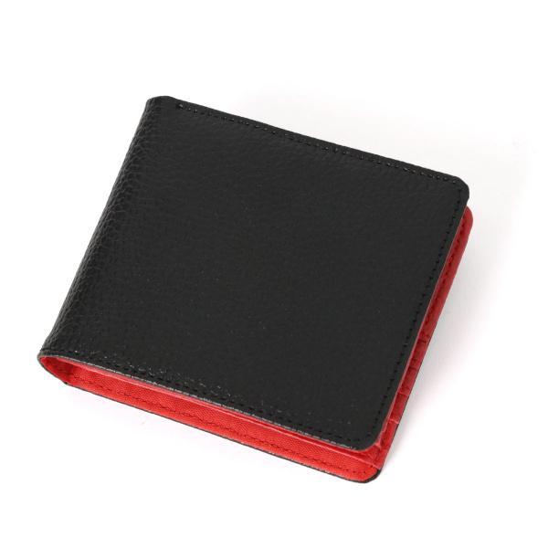 財布 メンズ 二つ折り 大容量 薄い 革 本革 カード 小銭入れ コンパクト サイフ さいふ メンズ財布 クリスマスギフト ポイント消化|fcase-jp|14