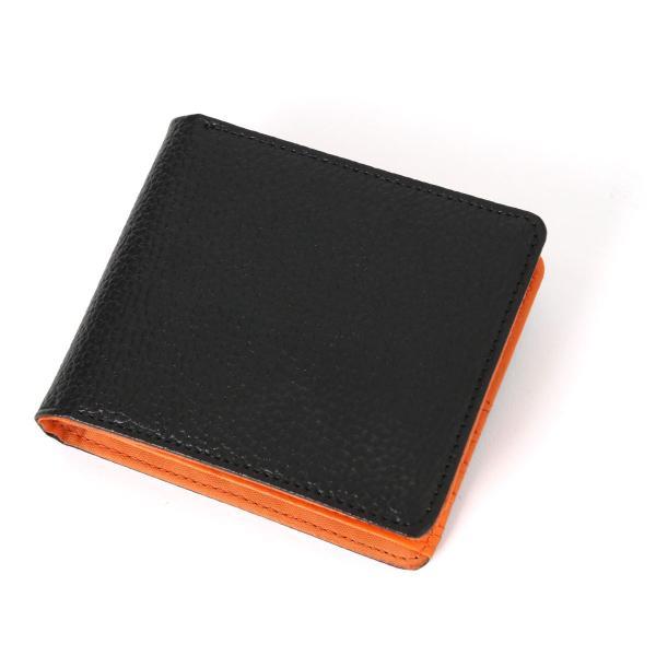 財布 メンズ 二つ折り 大容量 薄い 革 本革 カード 小銭入れ コンパクト サイフ さいふ メンズ財布 クリスマスギフト ポイント消化|fcase-jp|16