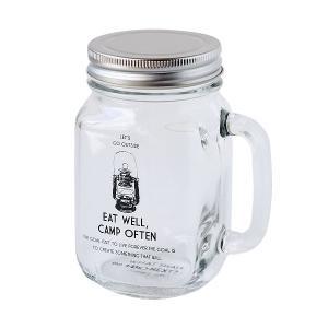 ヘミングス Eat Well Drinking Jar ガラスジャーヘミングス メイソン