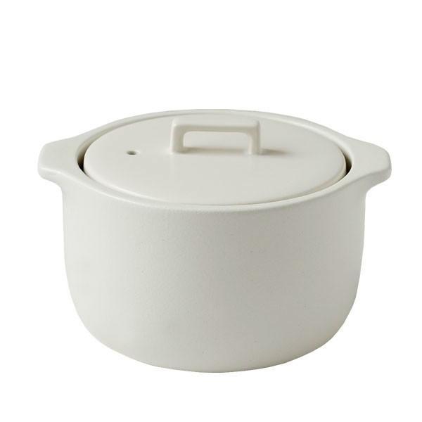 KINTO キントー KAKOMI 炊飯土鍋 2合(直火専用 食洗器可 遠赤外線効果 ライスクッカー なべ 米 ご飯 白飯) fci 08