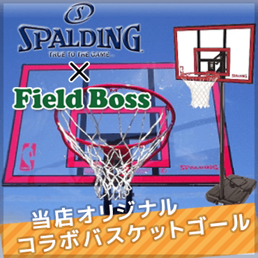 SPALDING X FieldBoss 【オリジナルバスケットゴール】