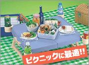 ピクニックに最適!折りたたみミニテーブル
