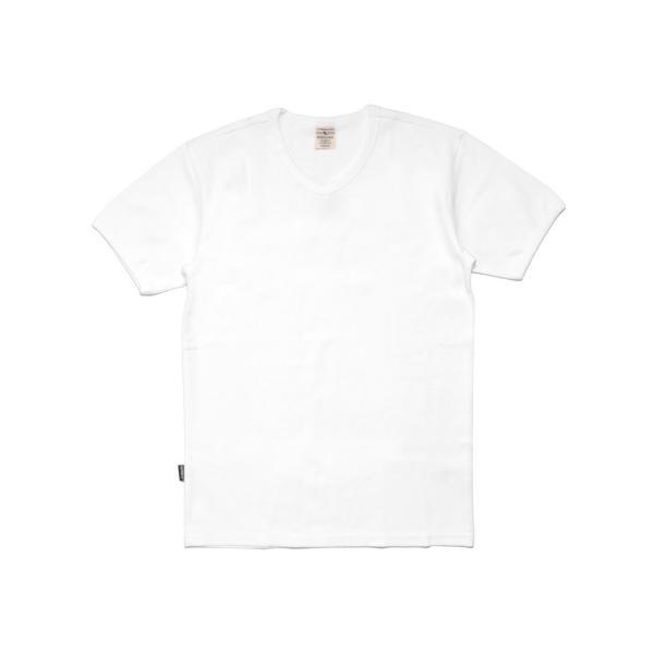 【ポイント10倍】アヴィレックス AVIREX デイリー ショートスリーブ Vネック ティーシャツ DAILY S/S RIB V NECK T 6143501|figure-corners|18