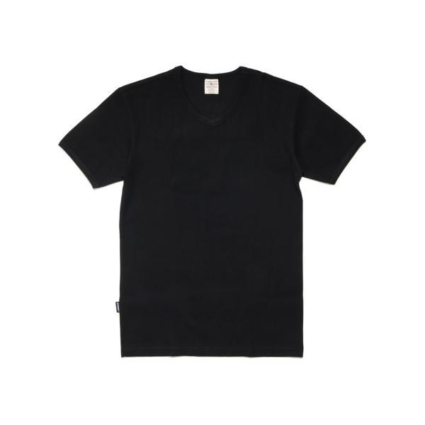 【ポイント10倍】アヴィレックス AVIREX デイリー ショートスリーブ Vネック ティーシャツ DAILY S/S RIB V NECK T 6143501|figure-corners|19
