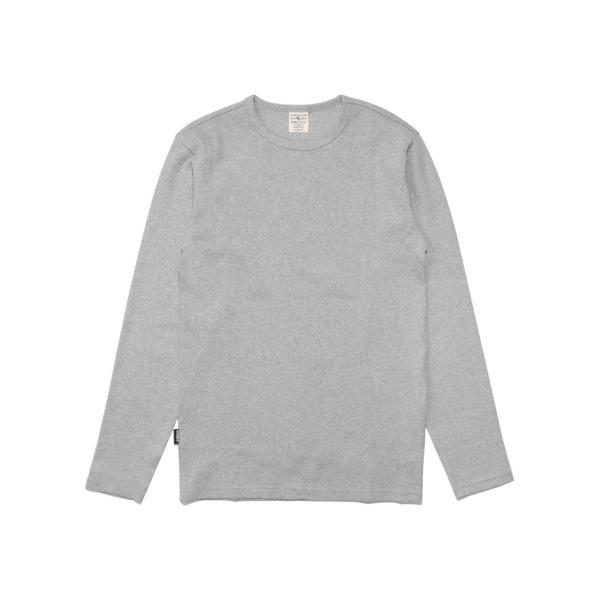 【ポイント10倍】アヴィレックス AVIREX デイリー テレコ クルーネック 長袖 ティーシャツ DAILY L/S RIB CREW NECK T 6153481|figure-corners|24