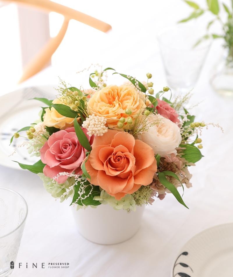 プリザーブドフラワー ギフト プレゼント 女性 記念日 リース インテリア ディスプレイ 誕生日 結婚祝い アレンジメント