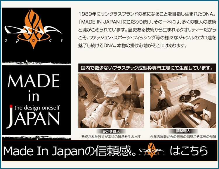 DNA,サングラス,国産,日本製,メイドインジャパン,made in Japan,