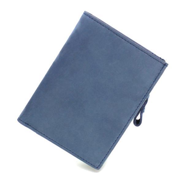(訳あり品)財布 メンズ 二つ折り財布 本革 日本製 男女兼用 魅革(mikawa) L字ファスナー式 メンズ財布 イタリア製オイルヌバックレザー 小銭入れ付き|fizi|24