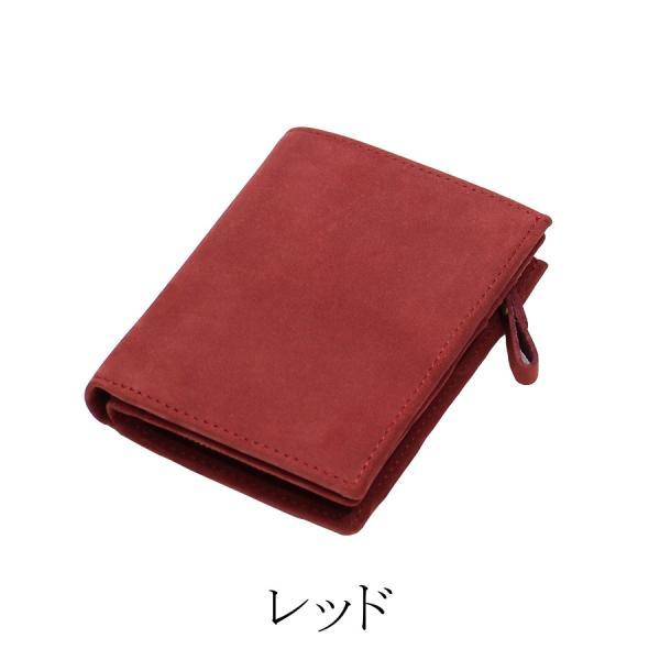 (訳あり品)財布 メンズ 二つ折り財布 本革 日本製 男女兼用 魅革(mikawa) L字ファスナー式 メンズ財布 イタリア製オイルヌバックレザー 小銭入れ付き|fizi|23