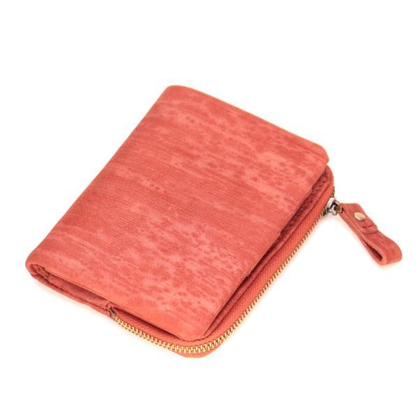 財布 メンズ 二つ折り 日本製 フォリエノ Folieno 本革 U字ファスナー 二つ折り財布 m006 グリーン ネイビー レッド オレンジ グレー 和柄|fizi|25