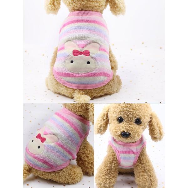 犬服 犬の服 犬 服 ペット 可愛い 冬用 おしゃれ 安い  秋 セール 猫 ドッグウエア タンクトップ  小型犬 中型犬 伸縮 やわらか シンプル XXS XS S M L XL|fk-store|10