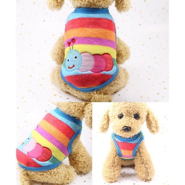 犬服 犬の服 犬 服 ペット 可愛い 冬用 おしゃれ 安い  秋 セール 猫 ドッグウエア タンクトップ  小型犬 中型犬 伸縮 やわらか シンプル XXS XS S M L XL|fk-store|08