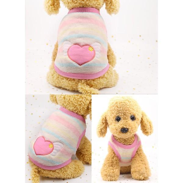 犬服 犬の服 犬 服 ペット 可愛い 冬用 おしゃれ 安い  秋 セール 猫 ドッグウエア タンクトップ  小型犬 中型犬 伸縮 やわらか シンプル XXS XS S M L XL|fk-store|11