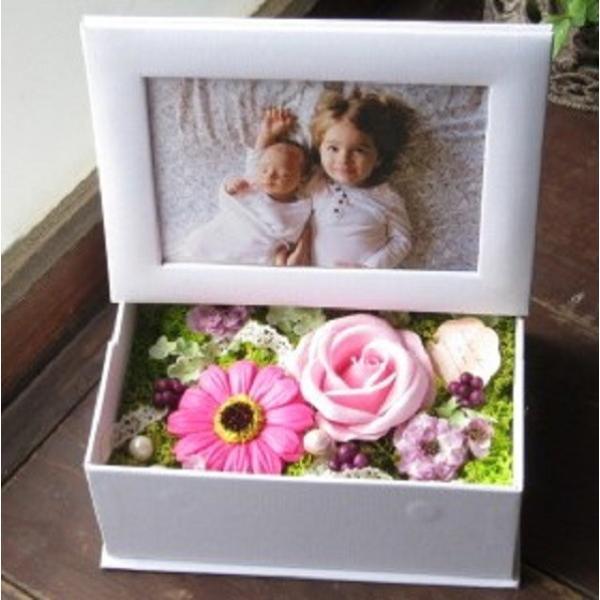 15種類から選べる フラワーフォトボックスorフレーム 写真立て 額 花 fkjiyugaoka 20