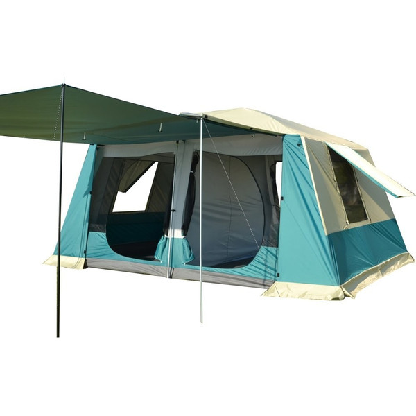 テント ツールーム 300cm×400cm 耐水圧 3000mm 部屋 スクリーン キャンプ アウトドア レジャー フライシート付き UV耐性 防虫 フルクローズ ad135|fkstyle|14