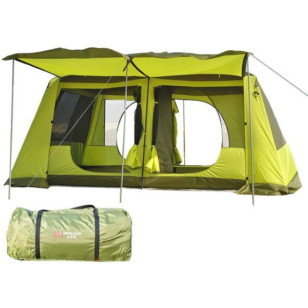 テント ツールーム 300cm×400cm 耐水圧 3000mm 部屋 スクリーン キャンプ アウトドア レジャー フライシート付き UV耐性 防虫 フルクローズ ad135|fkstyle|15