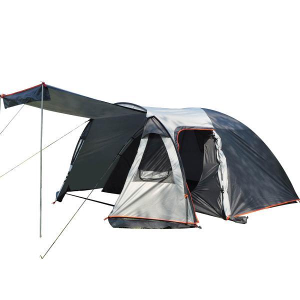 テント 4人用 オールインワン キャンプ 防水 キャンピングテント ファミリー クローズ アウトドア インナーテント 通風口 ad176|fkstyle|15