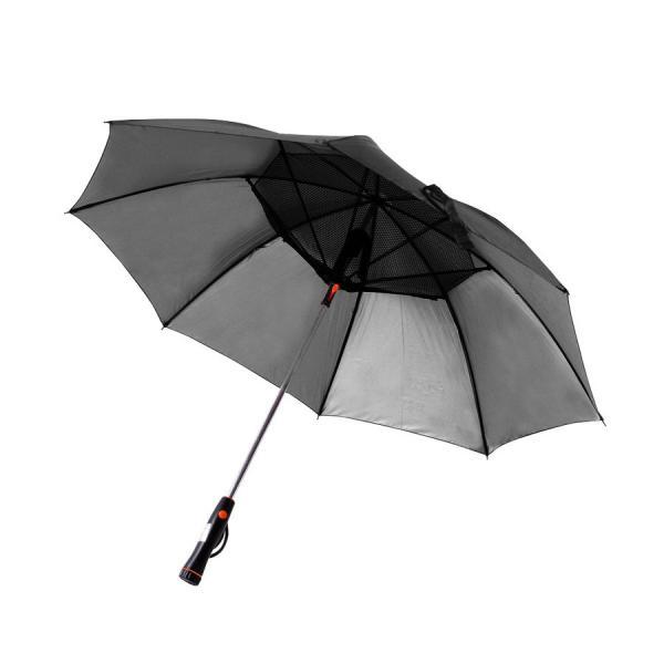 かさ 日傘 扇風機 晴雨兼用 UVカット 長傘 雨傘 遮光 紫外線対策 熱中症対策 メンズ レディース ネット付き 涼しい ny194 fkstyle 11