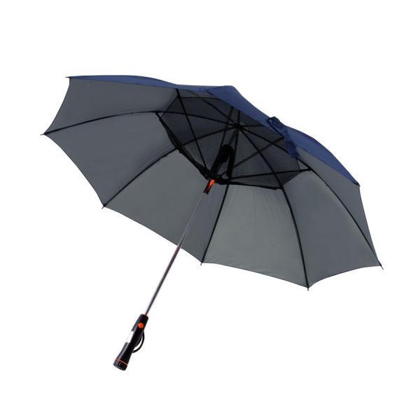かさ 日傘 扇風機 晴雨兼用 UVカット 長傘 雨傘 遮光 紫外線対策 熱中症対策 メンズ レディース ネット付き 涼しい ny194 fkstyle 12