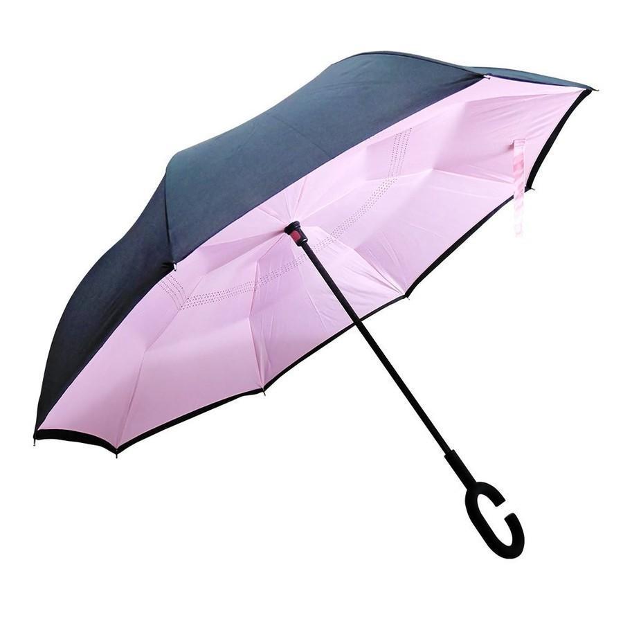 逆さ傘 傘 晴雨兼用 日傘 逆さになる傘 さかさま傘 レディース メンズ 日焼け対策 UVカット 逆折り 逆向き 長傘 濡れない zk095|fkstyle|22