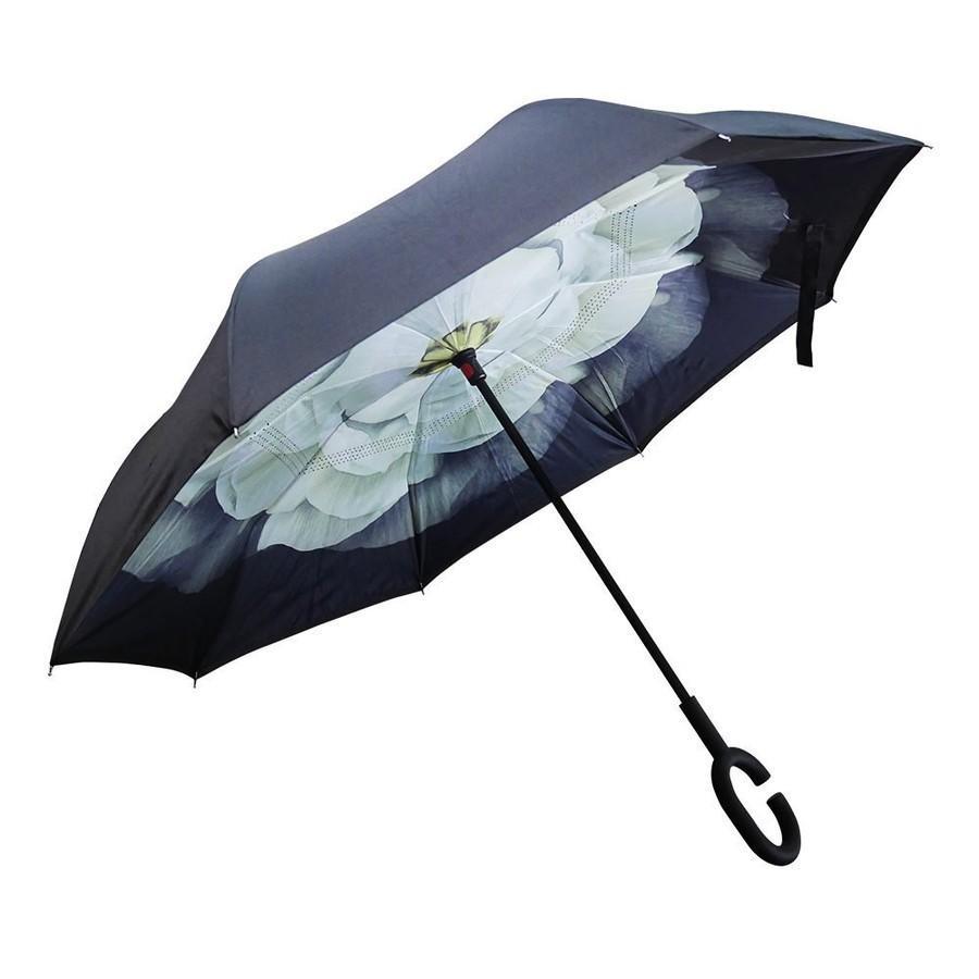 逆さ傘 傘 晴雨兼用 日傘 逆さになる傘 さかさま傘 レディース メンズ 日焼け対策 UVカット 逆折り 逆向き 長傘 濡れない zk095|fkstyle|23