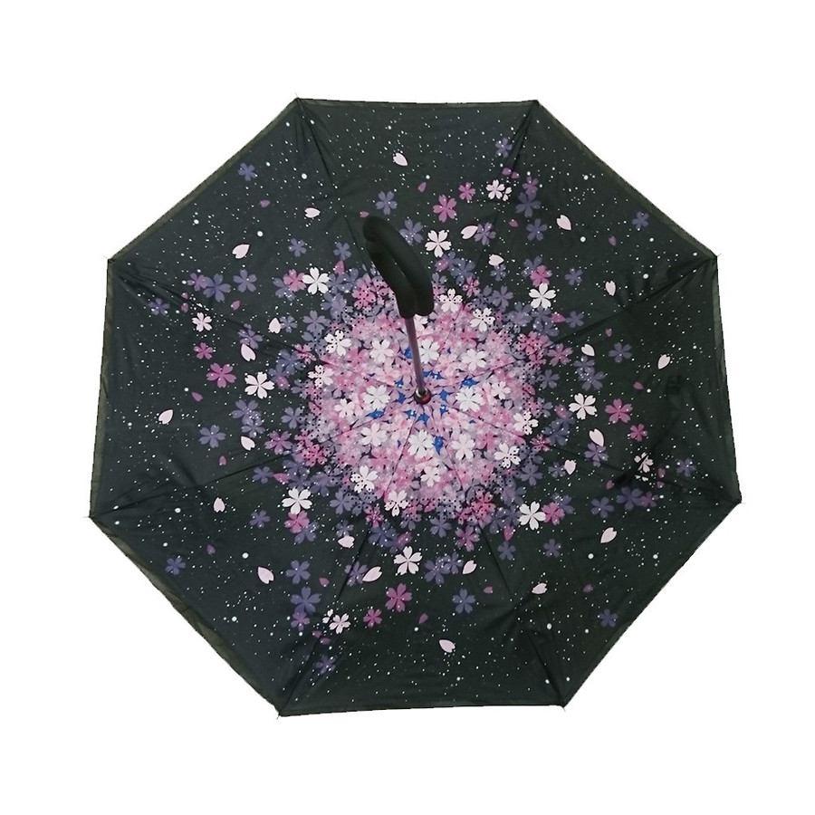 逆さ傘 傘 晴雨兼用 日傘 逆さになる傘 さかさま傘 レディース メンズ 日焼け対策 UVカット 逆折り 逆向き 長傘 濡れない zk095|fkstyle|29