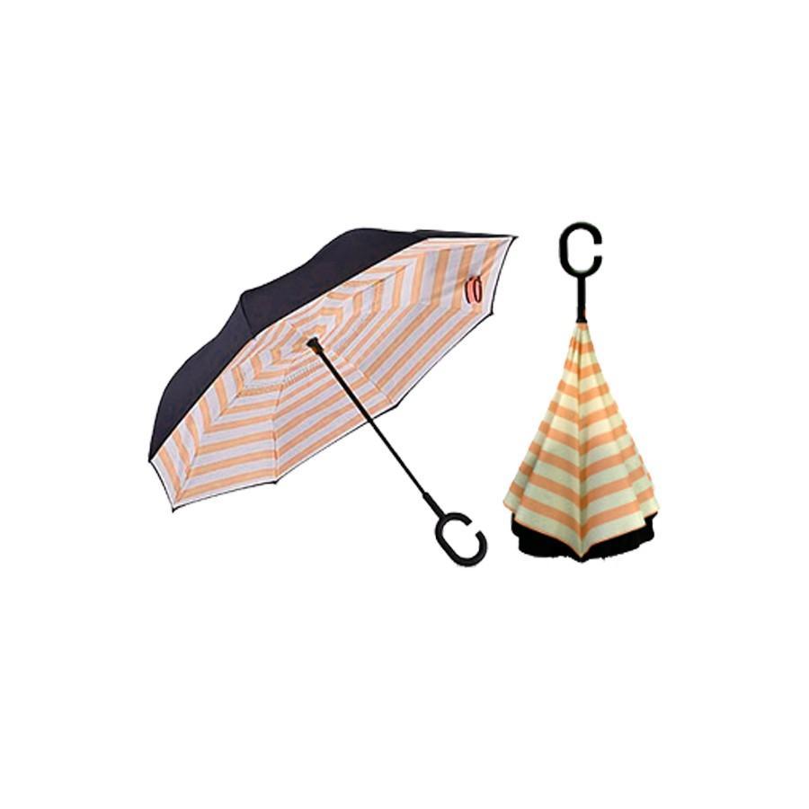 逆さ傘 傘 晴雨兼用 日傘 逆さになる傘 さかさま傘 レディース メンズ 日焼け対策 UVカット 逆折り 逆向き 長傘 濡れない zk095|fkstyle|32