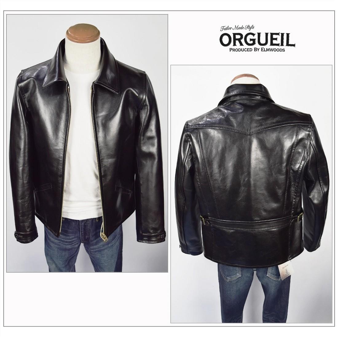 OR-4081 オルゲイユ ORGUEIL ライダース ジャケット 2