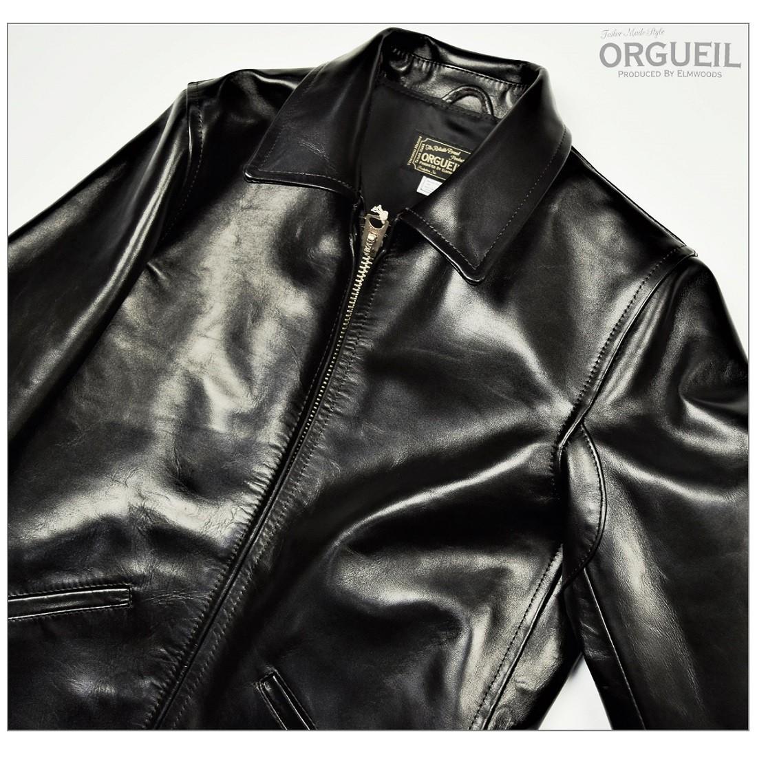 OR-4081 オルゲイユ ORGUEIL ライダース ジャケット 3