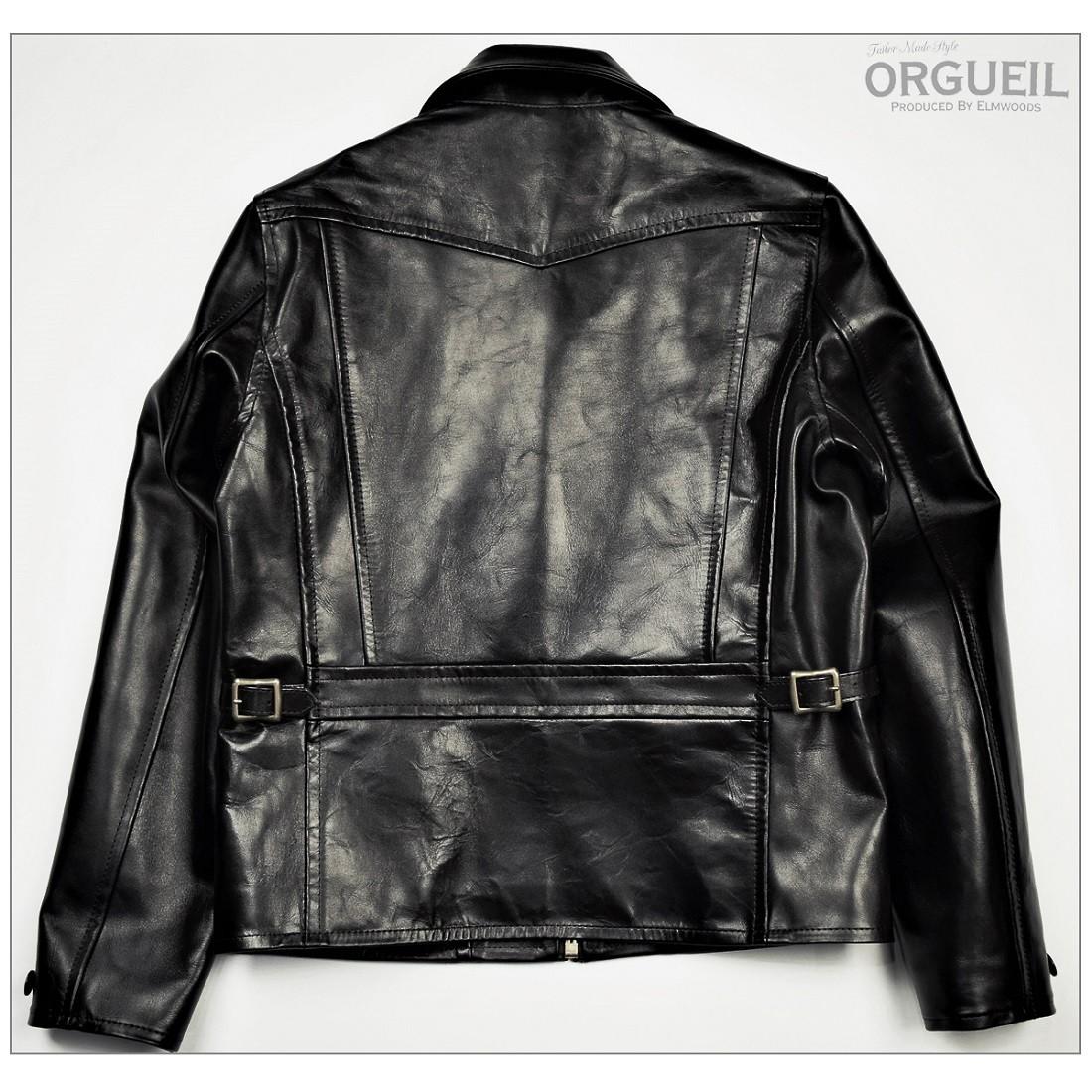 OR-4081 オルゲイユ ORGUEIL ライダース ジャケット 6