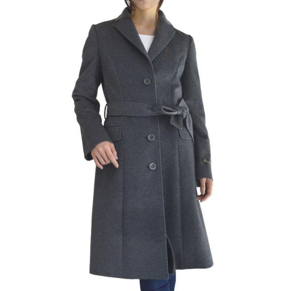 カシミヤウール テーラー襟 コート (c-1603) レディース 女性用 コート カシミヤ カシミア カシ混 ウール 秋 冬|fleche|29