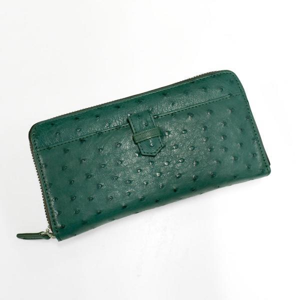 クーポン利用で25%OFF オーストリッチ ギャルソン長財布(g-1827)レディース 財布 本革 オーストリッチ 軽い ギャルソン プレゼント|fleche|19