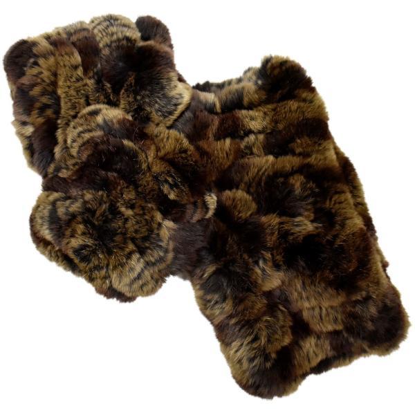 メール便 送料無料 レッキス ファースヌード  手袋 指なし セット h-1813  伸縮 ファーマフラー ファー手袋 レディース 女性用 毛皮 グローブ 軽い|fleche|18