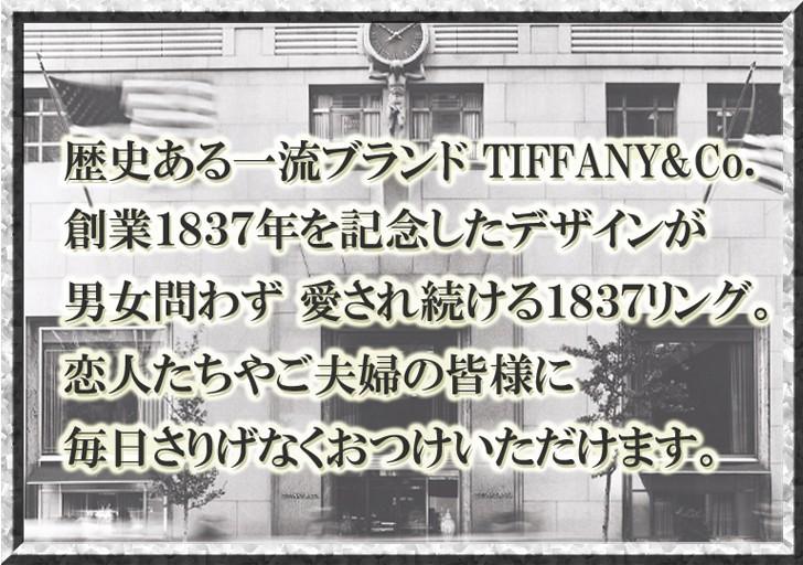 歴史ある一流ブランド TIFFANY&Co.