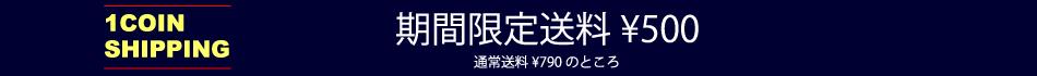通常送料790円のところ期間限定500円