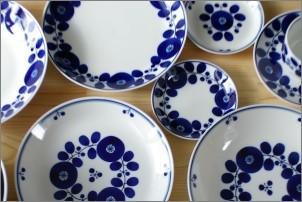 白山陶器の人気シリーズ ブルーム
