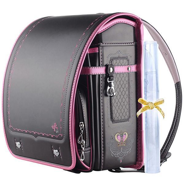 ランドセル 女 ピンク 茶色 6年保証 返品保証 クーロン 0014 / 女の子 おしゃれ かわいい 入学祝い 内祝い ピンク ブルー 可愛い 人気 水色 フロロ floro 26