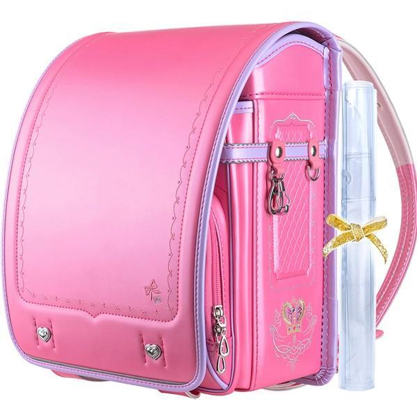 ランドセル 女 ピンク 茶色 6年保証 返品保証 クーロン 0014 / 女の子 おしゃれ かわいい 入学祝い 内祝い ピンク ブルー 可愛い 人気 水色 フロロ floro 21