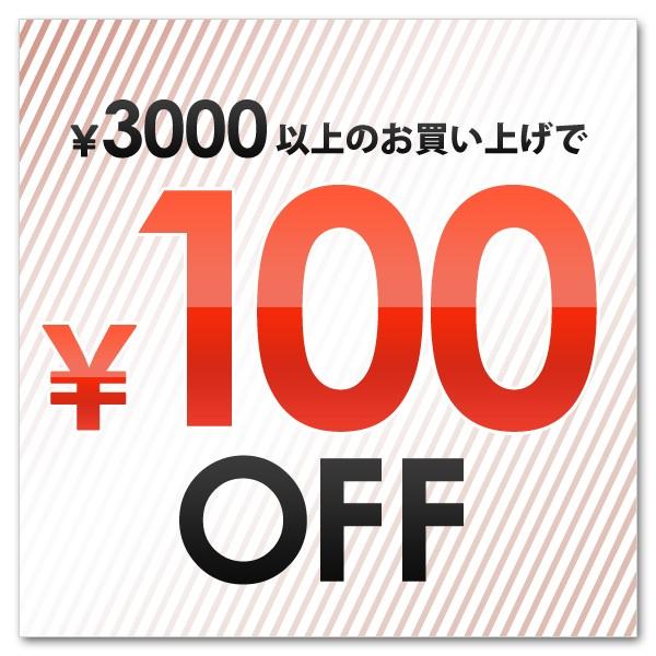 【3000円以上お買い上げで100円OFF】クーポン