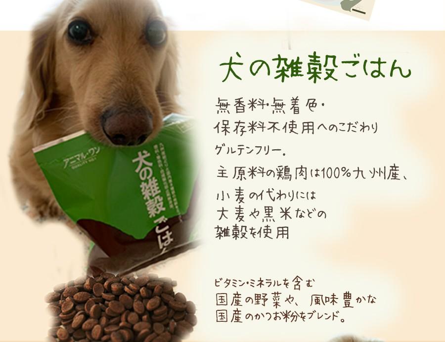 送料無料 犬の雑穀ごはん&機能性雑穀ごはん お試しセット 1000円