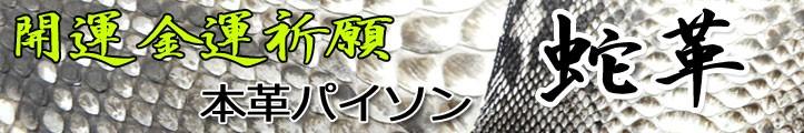 蛇革 [ 開運アイテム ]