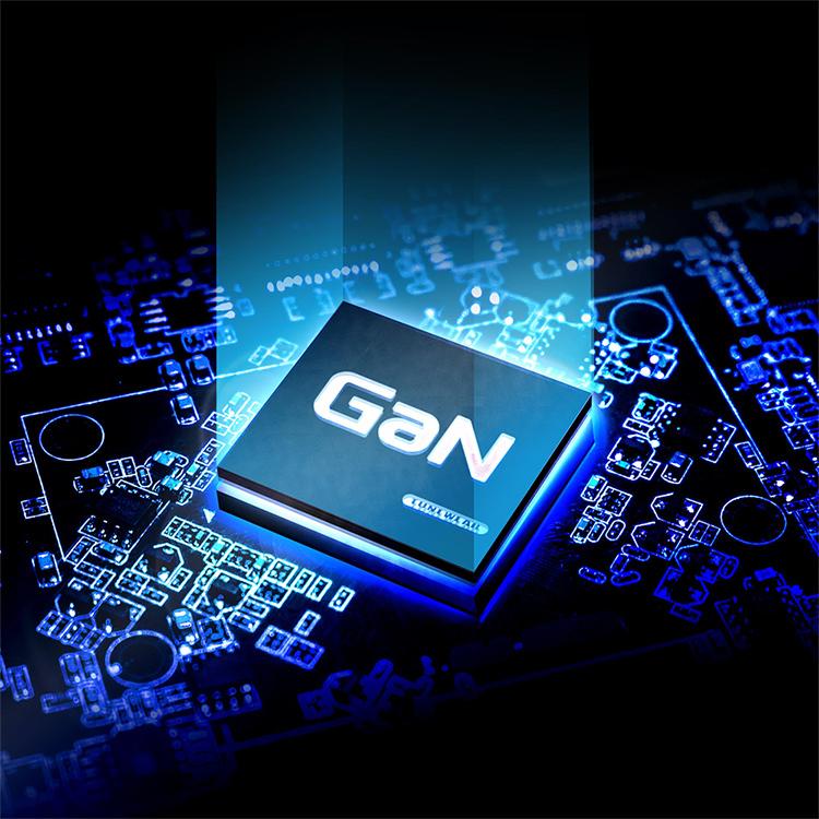 最新の窒化ガリウム(GaN)テクノロジーを搭載