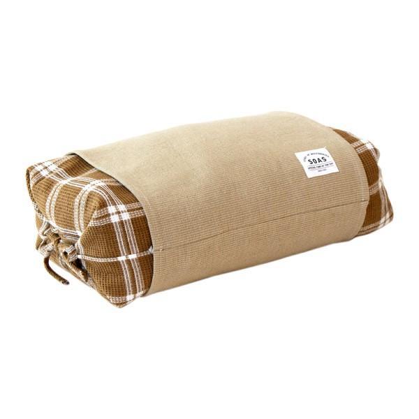 そば枕 SOAS 保多織 そばがら そば殻 蕎麦 枕 28×45cm 日本製 高さ調節 チェック 放湿 吸湿 おしゃれ ぼたおり 香川 瀬戸内 讃岐 母の日|fofoca|10