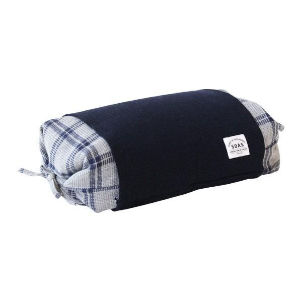 そば枕 SOAS 保多織 そばがら そば殻 蕎麦 枕 28×45cm 日本製 高さ調節 チェック 放湿 吸湿 おしゃれ ぼたおり 香川 瀬戸内 讃岐 母の日|fofoca|11