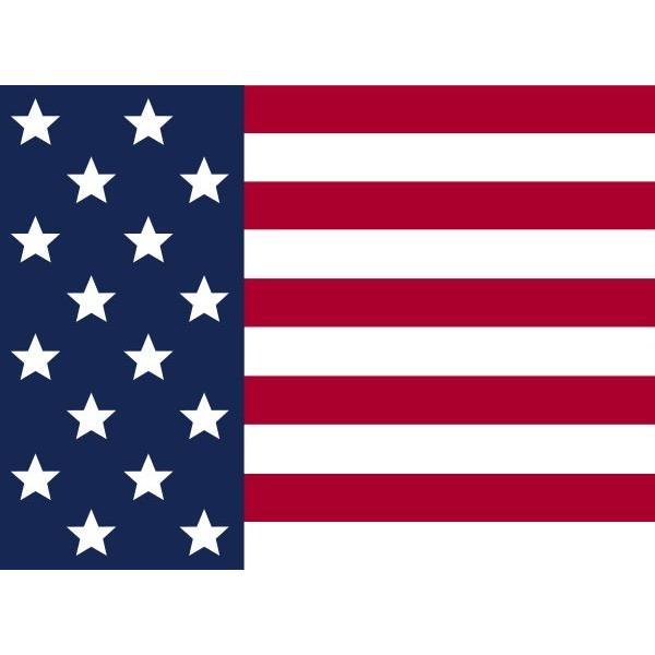 ラグマット カーペット 洗える おしゃれ 日本製 130×176cm ホットカーペット 対応 フラッグ アメリカン 星条旗 リビング 洗える国産ラグ 春夏 約1.5畳 fofoca 07