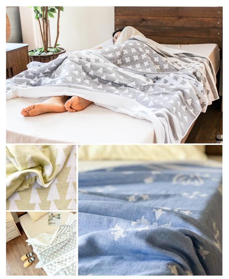 汗をかいてもべたつきにくく、お肌にやさしいから、寝苦しい夏の快眠アイテムとして最適。