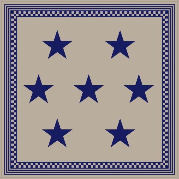 ラグマット カーペット 洗える おしゃれ 日本製 176×176cm ホットカーペット 対応 星柄 スター 正方形 リビング 洗える国産ラグ  約2畳 春夏|fofoca|09