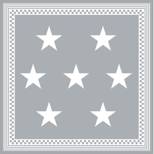ラグマット カーペット 洗える おしゃれ 日本製 176×176cm ホットカーペット 対応 星柄 スター 正方形 リビング 洗える国産ラグ  約2畳 春夏|fofoca|07